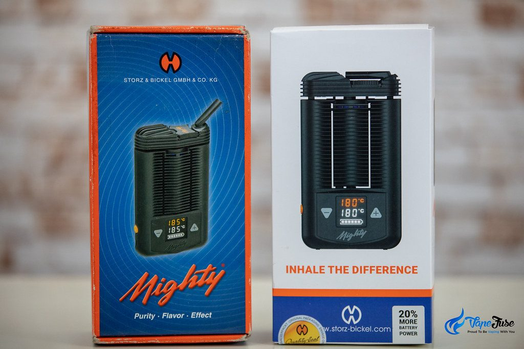Mighty Vaporizer Larger Battery