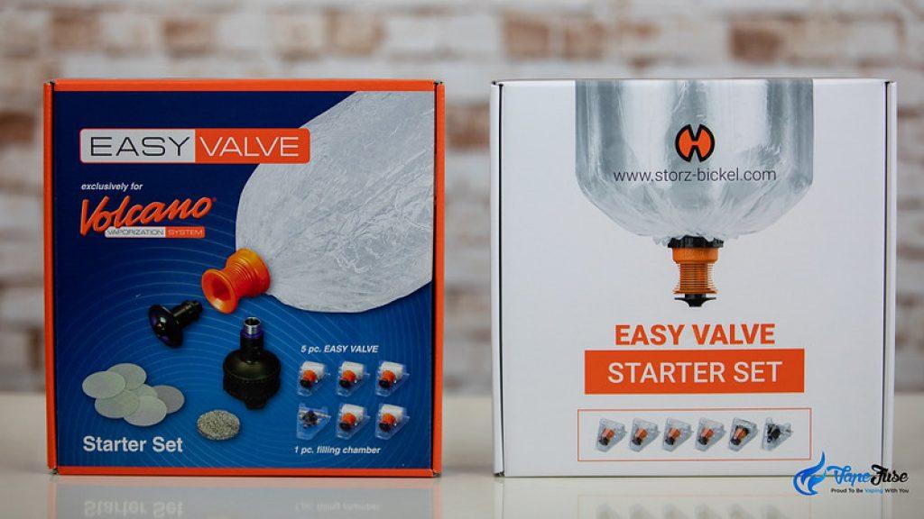 Easy Valve Starter Set New Packaging