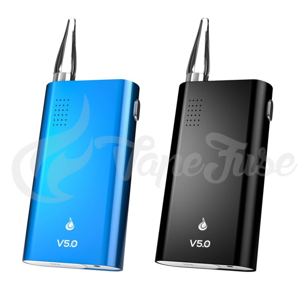 Flowermate V5.0S Portable Vaporizer Black and Blue
