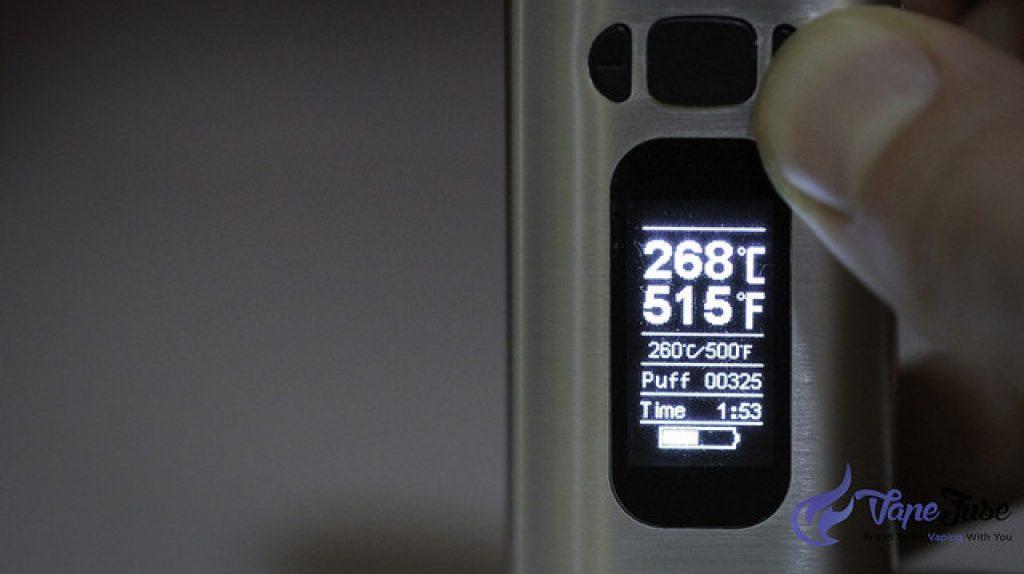 WOW Vaporizer by ALD Amaze Digital Display