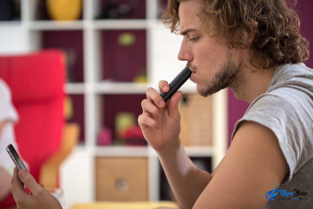 PAX3 Herbal Vaporizer in use with app