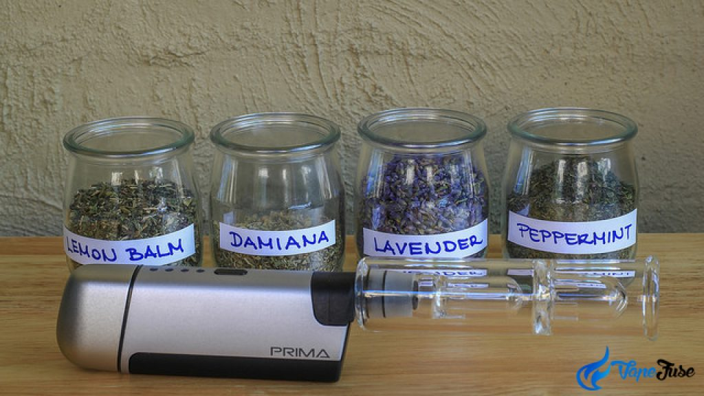 Prima Bubbler and Herbs