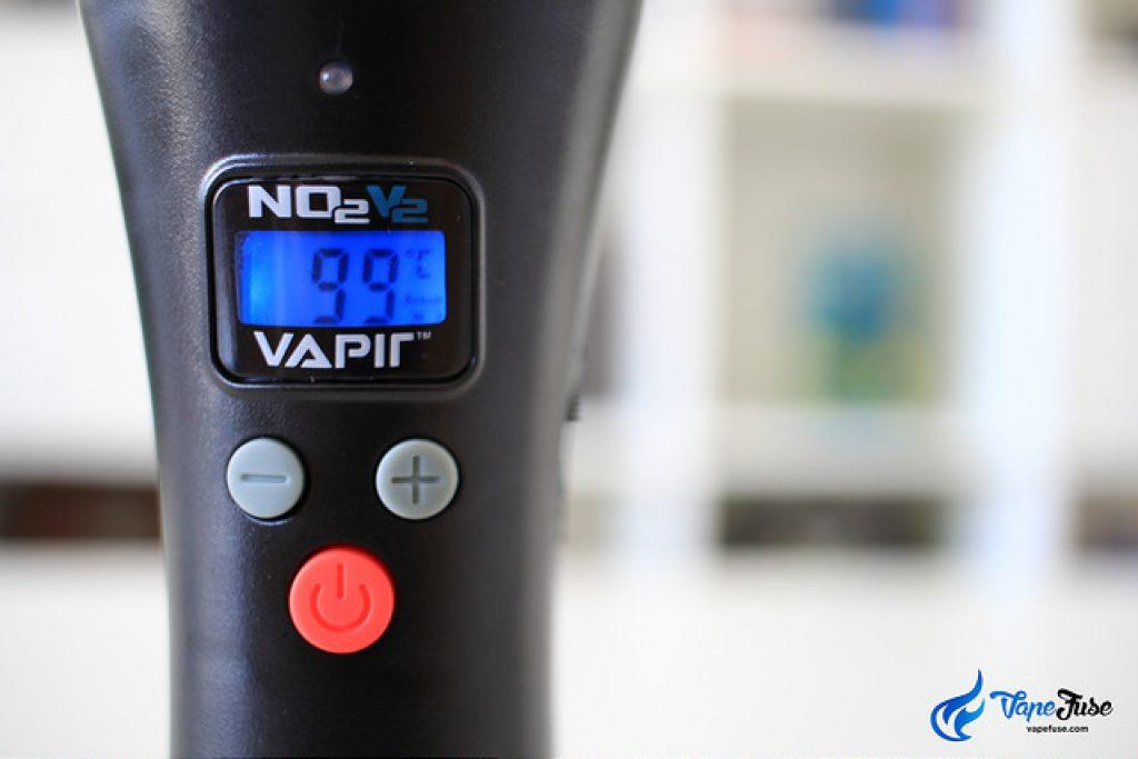 Vapir NO2 V2 Buttons