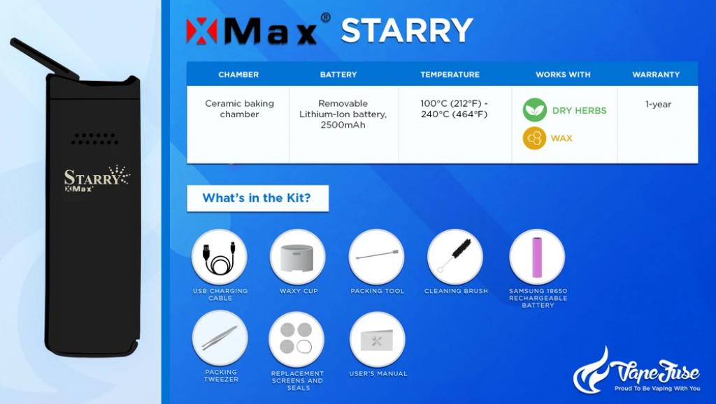 XMax Starry Graphics