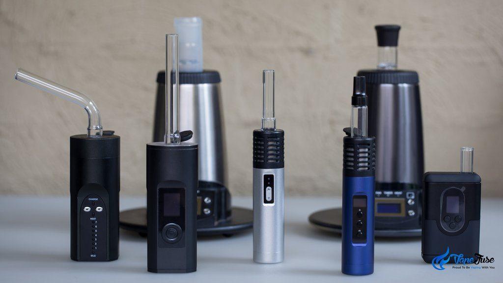 Arizer vaporizer range