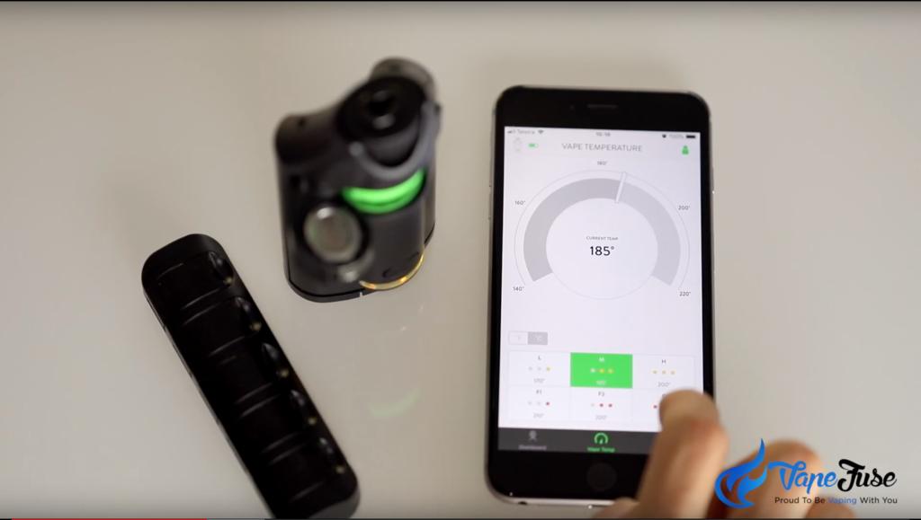 Ghost MV1 Portable Vaporzier Smart Phone App