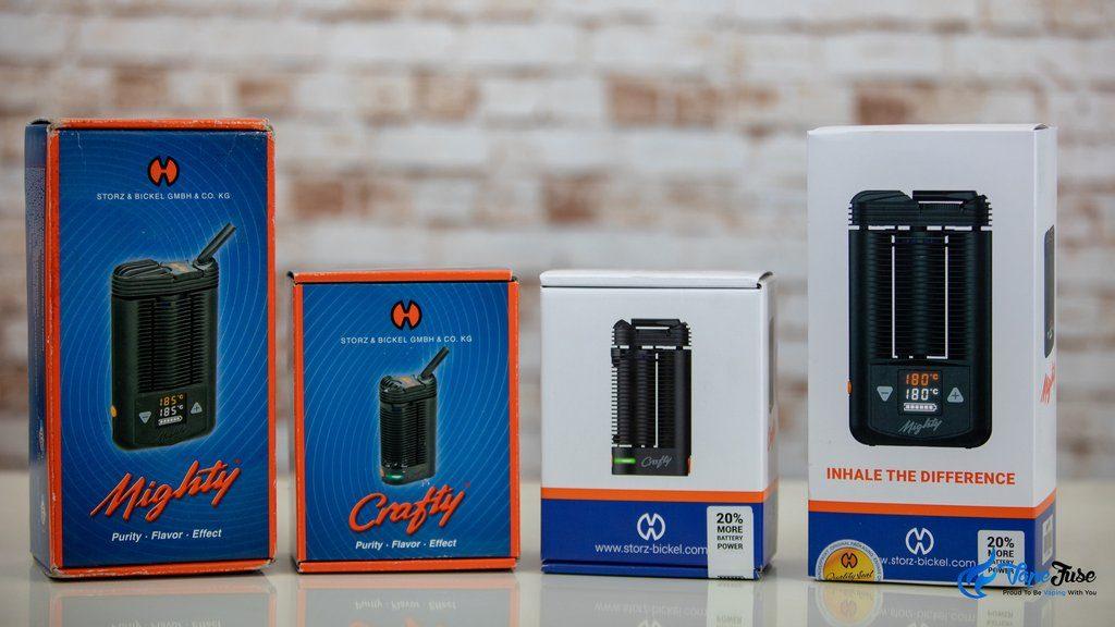 Storz and Bickel New better vaporizer batteries