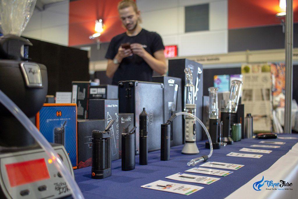 VapeFuse at an Expo
