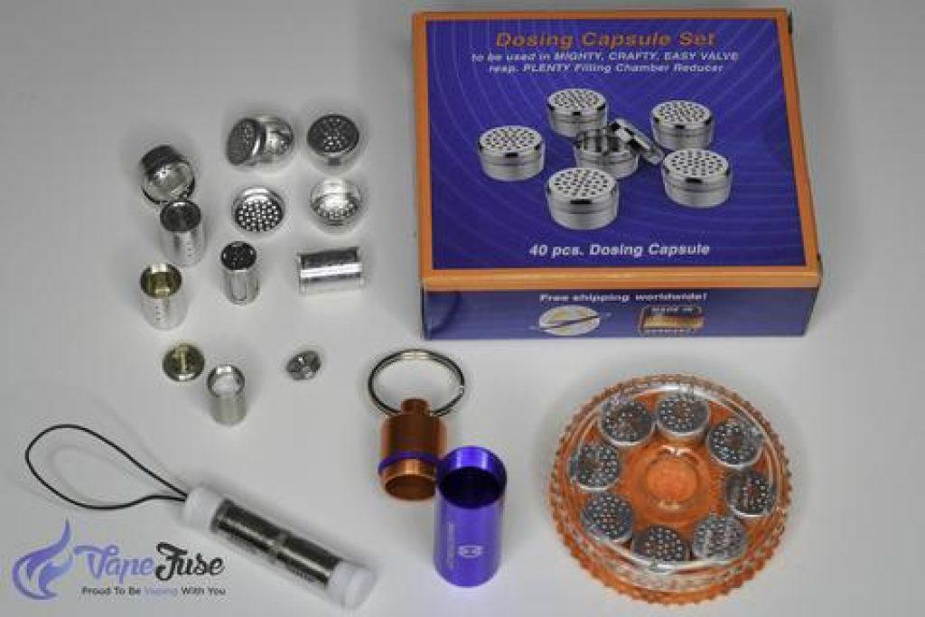 Vaporizer Dosing Capsules